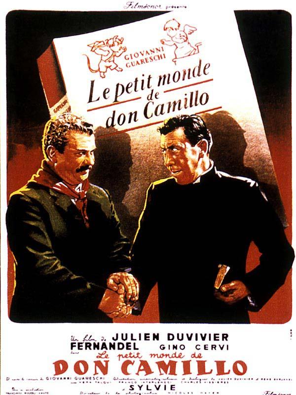 Don Camillo 1 : Le Petit Monde de Don Camillo affiche