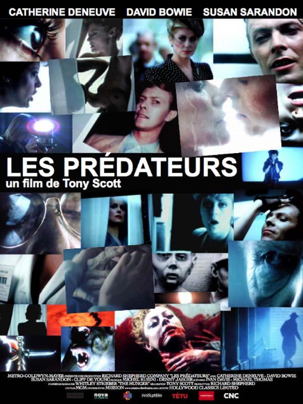 Les prédateurs (1983) affiche