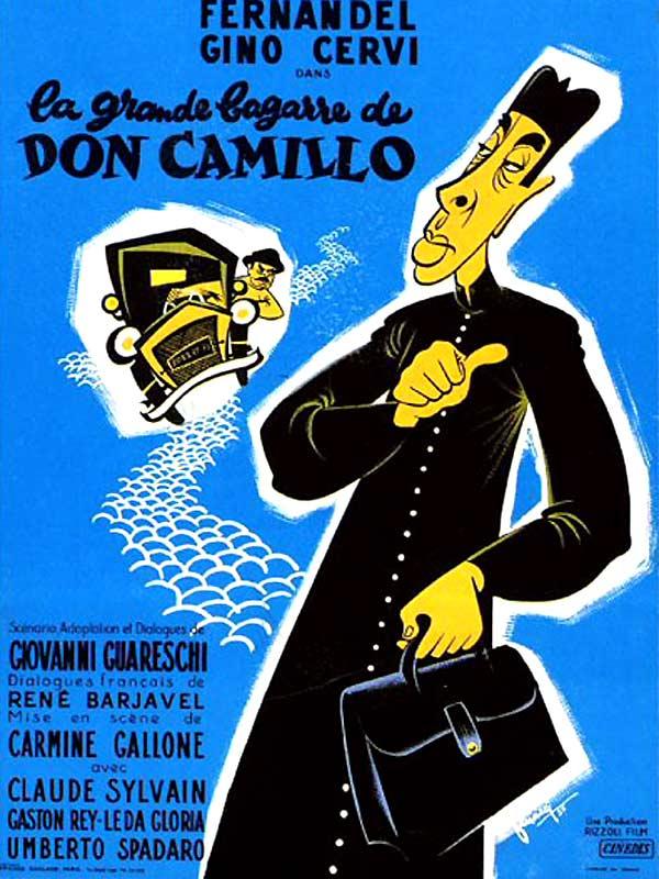 Don Camillo 3 : La grande bagarre de Don Camillo affiche