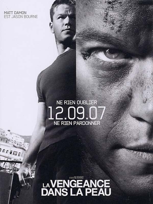 Jason Bourne 3 - La Vengeance dans la peau affiche