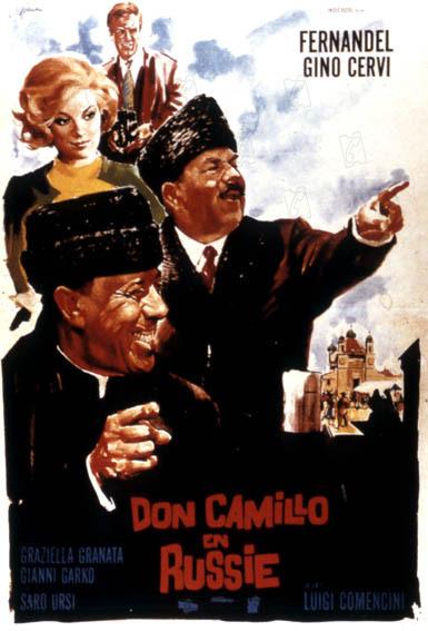 Don Camillo 5 : Don Camillo en Russie