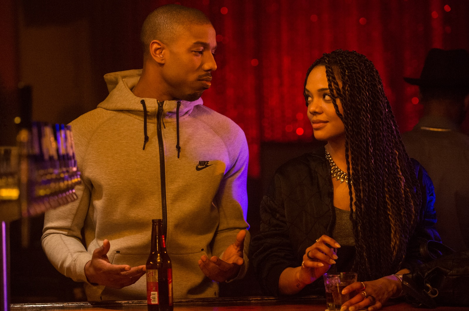 Creed - L'Héritage de Rocky Balboa : Photo Michael B. Jordan, Tessa Thompson