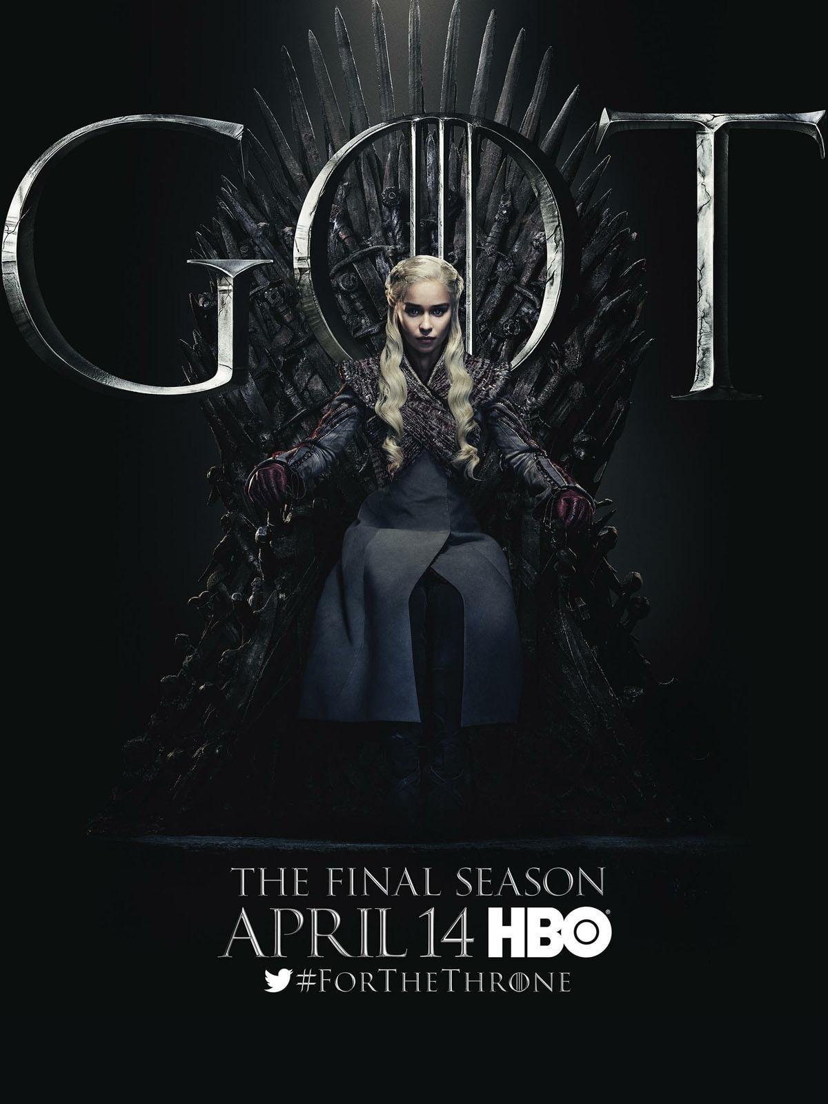 Affiche de la série Game of Thrones