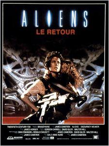 Aliens 2 : le retour affiche