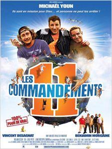 Les 11 commandements affiche