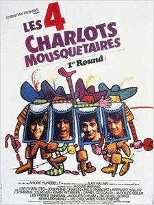 [Les Charlots] Les Quatre Charlots mousquetaires 21 affiche