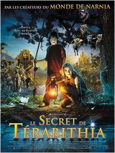 Le Secret de Terabithia affiche