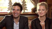Virginie Efira, Alex Goude, Genndy Tartakovsky Interview : Hôtel Transylvanie