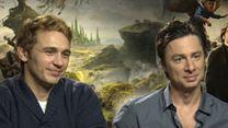 Zach Braff, James Franco, Mila Kunis, Sam Raimi, Rachel Weisz Interview 2: Le Monde fantastique d'Oz