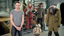 Daisy Ridley vous remercie depuis le tournage de Star Wars 8 !