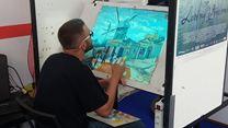 """Un peintre de """"La Passion Van Gogh"""" à l'ouvrage au festival d'Annecy"""