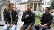 Un peuple et son roi : le tournage raconté par Adèle Haenel, Laurent Lafitte et Gaspard Ulliel