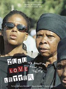 Zulu love letter streaming