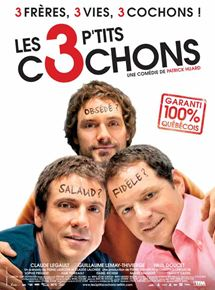 Les 3 p'tits cochons streaming