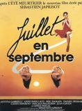 Juillet en Septembre