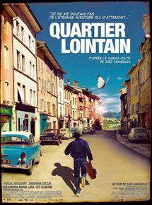 Film Quartier lointain Streaming Complet - Thomas, la cinquantaine, père de famille, arrive par hasard dans la ville de son enfance....
