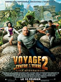 Voyage au centre de la Terre 2 : L'île mystérieuse streaming