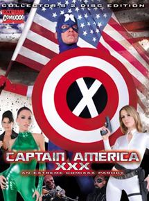 Captain America XXX : An Extreme Comixxx Parody
