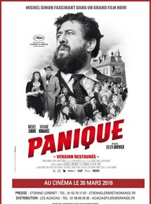 Panique streaming