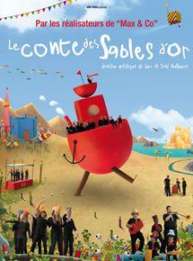 Affiche du film Le Conte des sables d'or