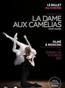 Film La Dame aux camélias (Bolchoï-Pathé Live) Complet Streaming VF Entier Français