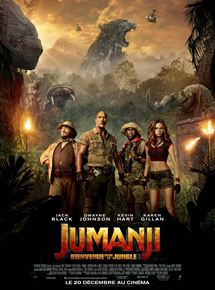 Jumanji : Bienvenue dans la jungle stream