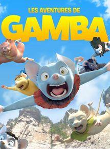 Les Aventures de Gamba affiche