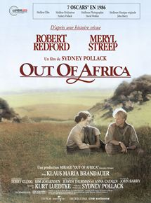 Out of Africa – Souvenirs d'Afrique streaming