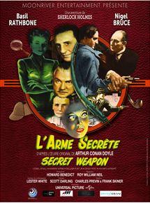 Sherlock Holmes et l'arme secrète streaming