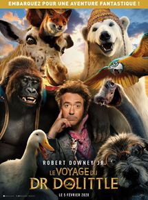 Le Voyage du Dr Dolittle streaming