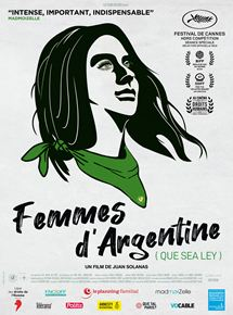 Femmes d'Argentine (Que Sea Ley) streaming