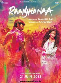 Raanjhanaa en streaming