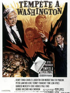 Tempête à Washington