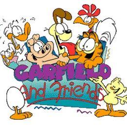 Garfield et ses amis s rie tv 1988 allocin - Voix de garfield ...