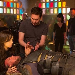 X-Men: Days of Future Past : Photo Bryan Singer, Ellen Page, Hugh Jackman