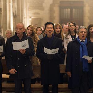 Qu'est-ce qu'on a fait au Bon Dieu? : Photo Ary Abittan, Chantal Lauby, Christian Clavier, Frédéric Chau, Medi Sadoun