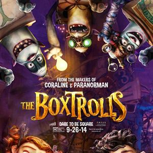 Les Boxtrolls : Affiche