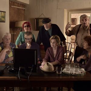 La Trouvaille de Juliette : Photo Alexis Michalik, Andréa Ferréol, Anne Jacquemin, Catherine Hosmalin, Christian Charmetant