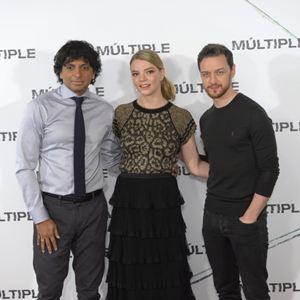 Split : Photo promotionnelle Anya Taylor-Joy, James McAvoy, M. Night Shyamalan