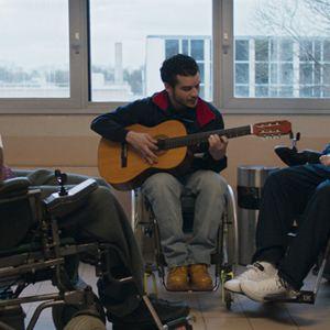 Patients : Photo Moussa Mansaly, Pablo Pauly, Soufiane Guerrab