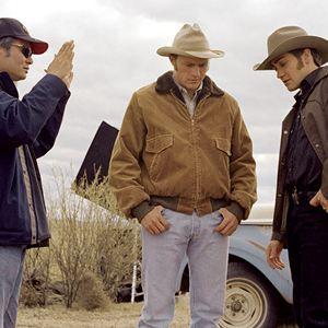 Le Secret de Brokeback Mountain : Photo Ang Lee, Heath Ledger, Jake Gyllenhaal