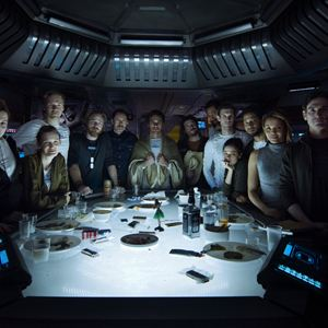 Alien: Covenant : Photo Billy Crudup, Callie Hernandez, Carmen Ejogo, Danny McBride, Demian Bichir