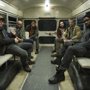 The Predator : Photo Alfie Allen, Augusto Aguilera, Boyd Holbrook, Keegan-Michael Key, Thomas Jane