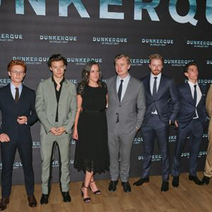 Dunkerque : Photo promotionnelle Christopher Nolan, Emma Thomas, Fionn Whitehead, Harry Styles, Jack Lowden
