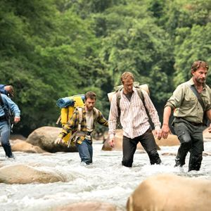 Jungle : Photo Alex Russell, Daniel Radcliffe, Joel Jackson, Thomas Kretschmann