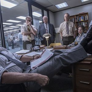 Pentagon Papers : Photo Bob Odenkirk, Bradley Whitford, Bruce Greenwood, Carrie Coon, Tom Hanks