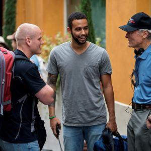 Photo Anthony Sadler, Clint Eastwood, Spencer Stone