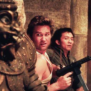 Les Aventures de Jack Burton dans les griffes du mandarin : Photo Dennis Dun, Kurt Russell