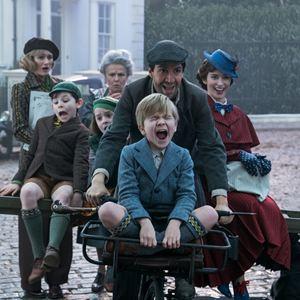 Le Retour de Mary Poppins : Photo Emily Blunt, Emily Mortimer, Joel Dawson, Julie Walters, Lin-Manuel Miranda