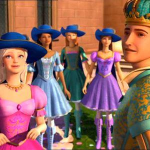 Barbie et les trois mousquetaires photos et affiches - Barbie les trois mousquetaires ...